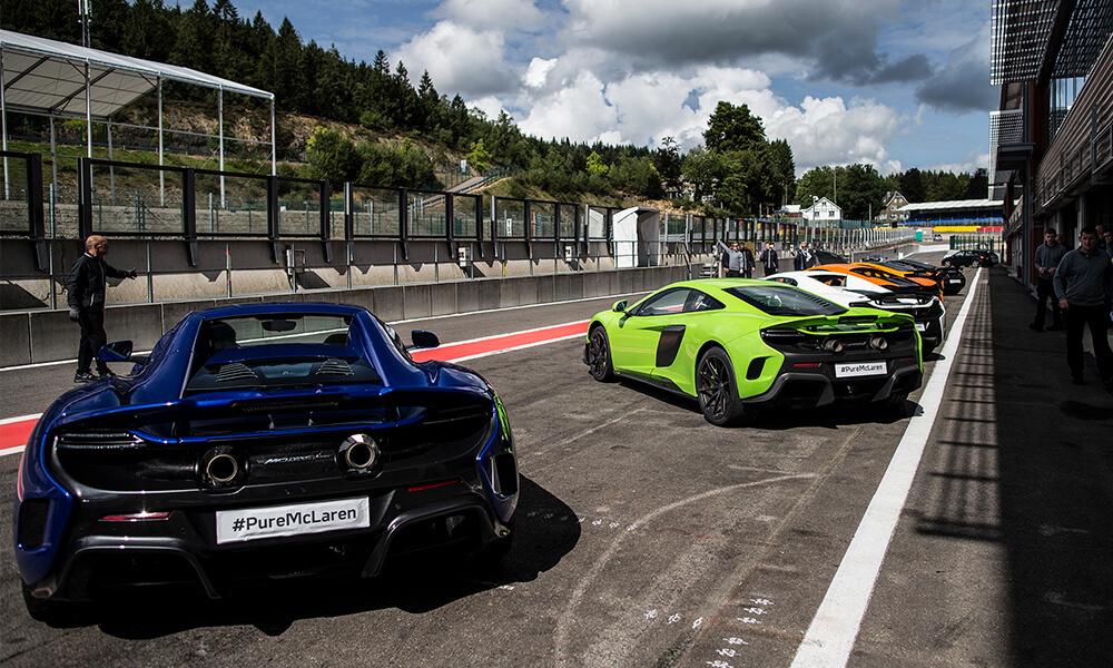 Pure McLaren experience