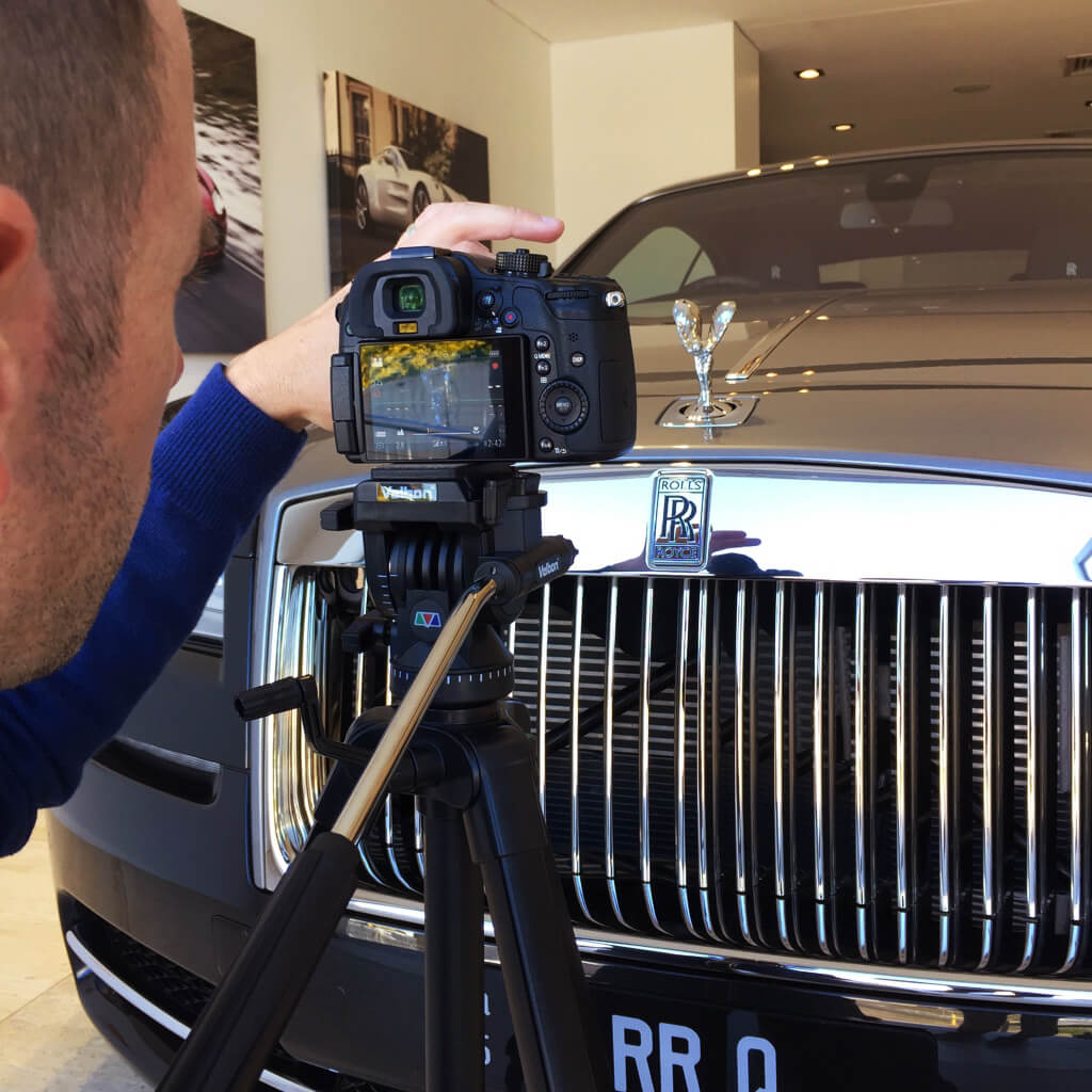Billionaire Toys Rolls Royce Filming 1