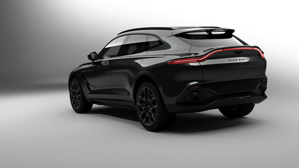 130 William Adjaye Special Edition Aston Martin DBX SUV. Credit: Aston Martin Lagonda