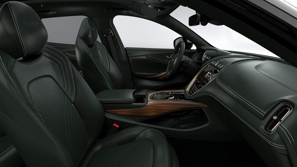 130 William Aston Martin DBX Interior Front