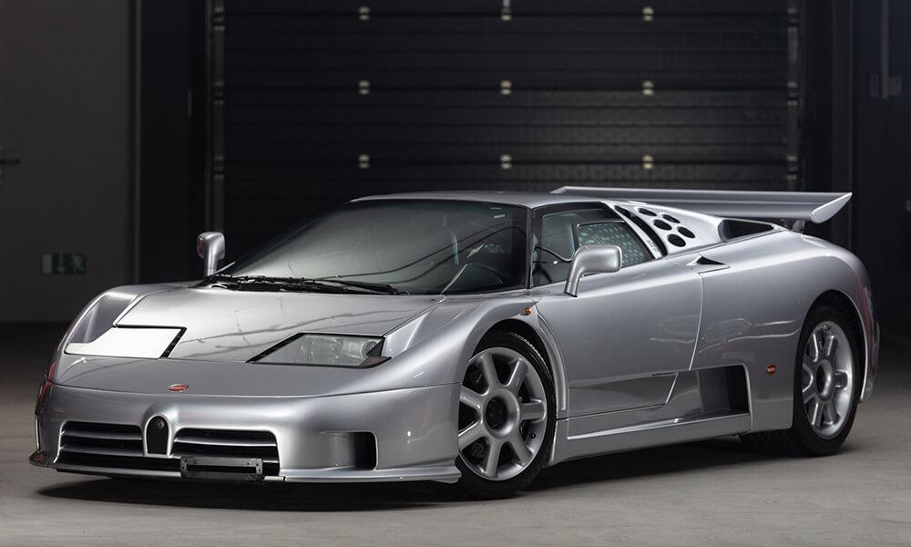1994 Bugatti EB110 Super Sport front view