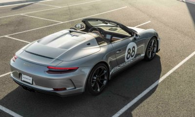 Porsche 911 Speedster 911 generation to be auctioned by RM Sotheby's for COVID-19 Charity Fund