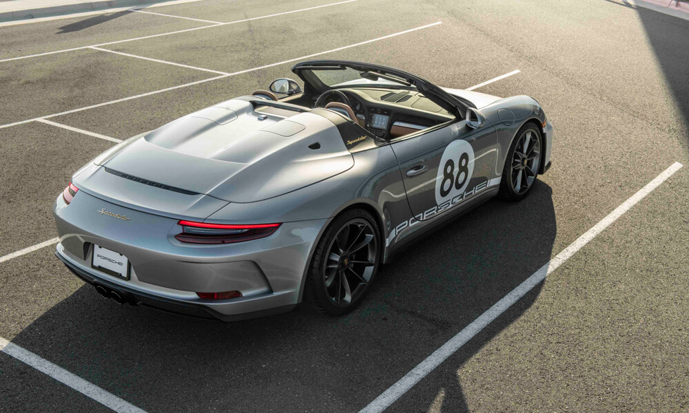 2019 Porsche 911 Speedster 991 RM Sotheby's Auction for COVID-19