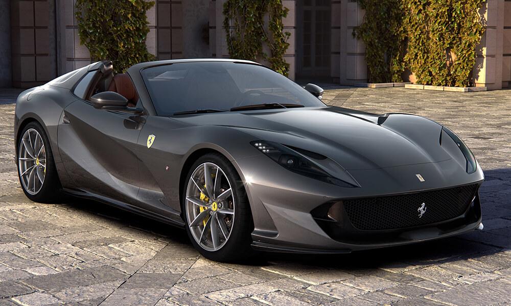 2020 Ferrari 812 GTS Front 3-4