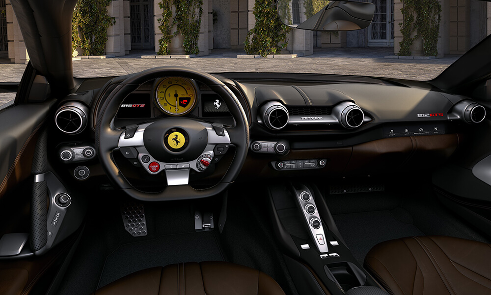 2020 Ferrari 812 GTS Interior Dashboard Steering Wheel