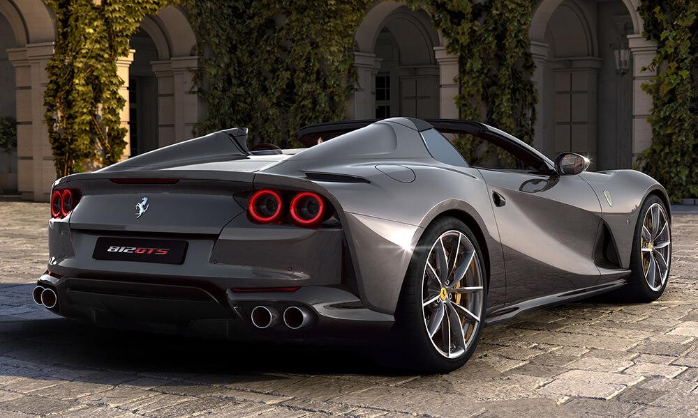 2020 Ferrari 812 GTS Rear 3-4