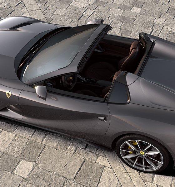 2020 Ferrari 812 GTS Rear top view