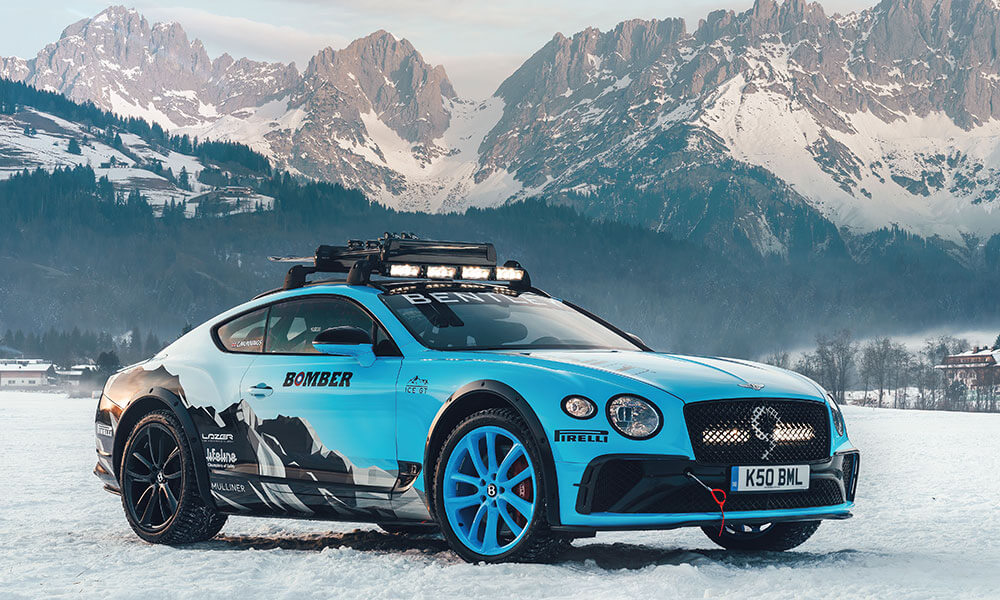 2020 GP Ice Race at Zell am See with the Bentley GT