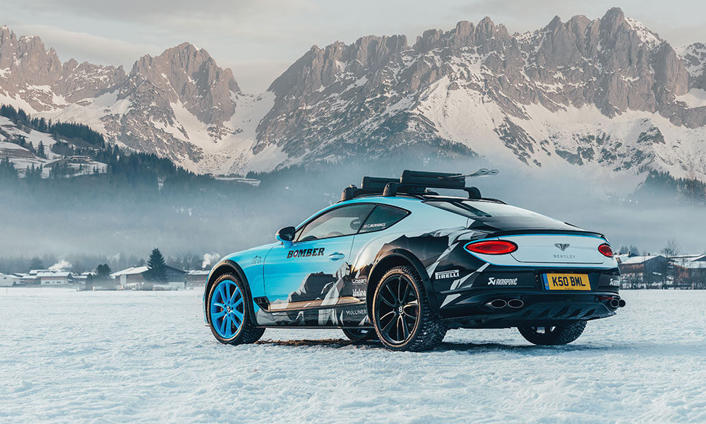 Ice Race edition Bentley Continental GT