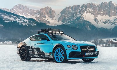 2020 GP Ice Race at Zell am See with the Bentley Continental GT