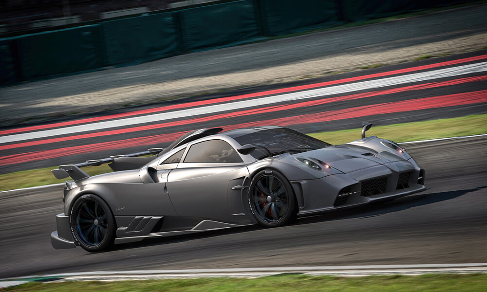 The new Pagani Huayra R comes after the Huayra Imola. Credit: Pagani