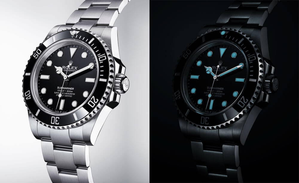2020 Rolex Oyster Perpetual Submariner OysterSteel Day & Night