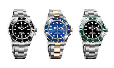 2020 Rolex Oyster Perpetual Submariner Trio