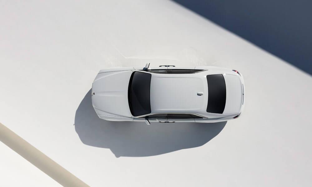 2021 Rolls-Royce Ghost Aerial View