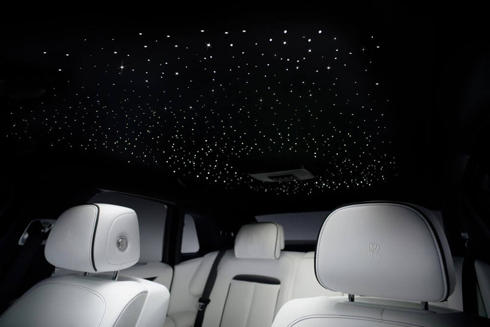 2021 Rolls-Royce Ghost Interior Front Interior Sklight Roof