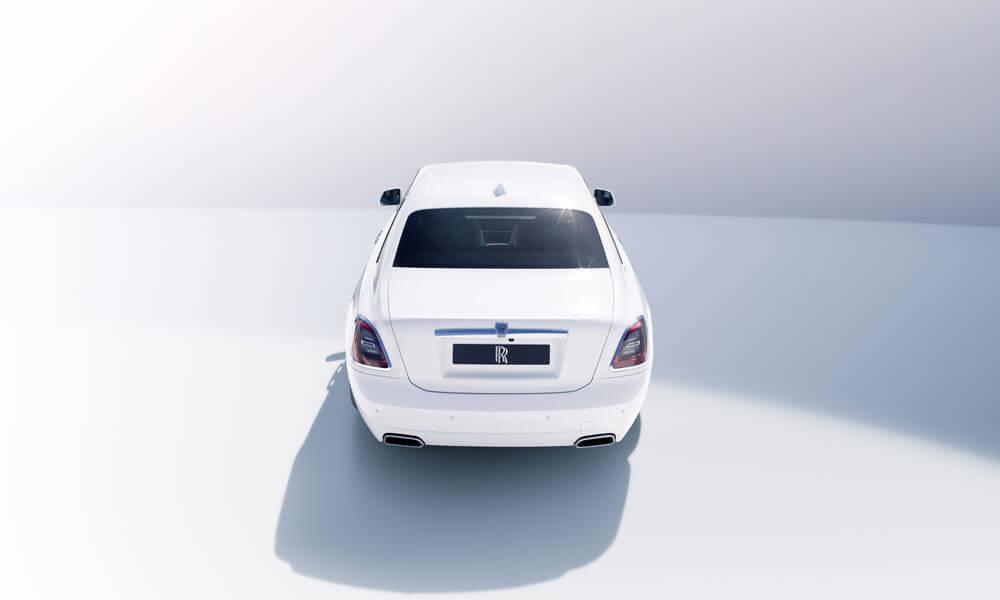 2021 Rolls-Royce Ghost Rear View