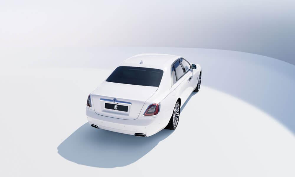 2021 Rolls-Royce Ghost Side Rear View
