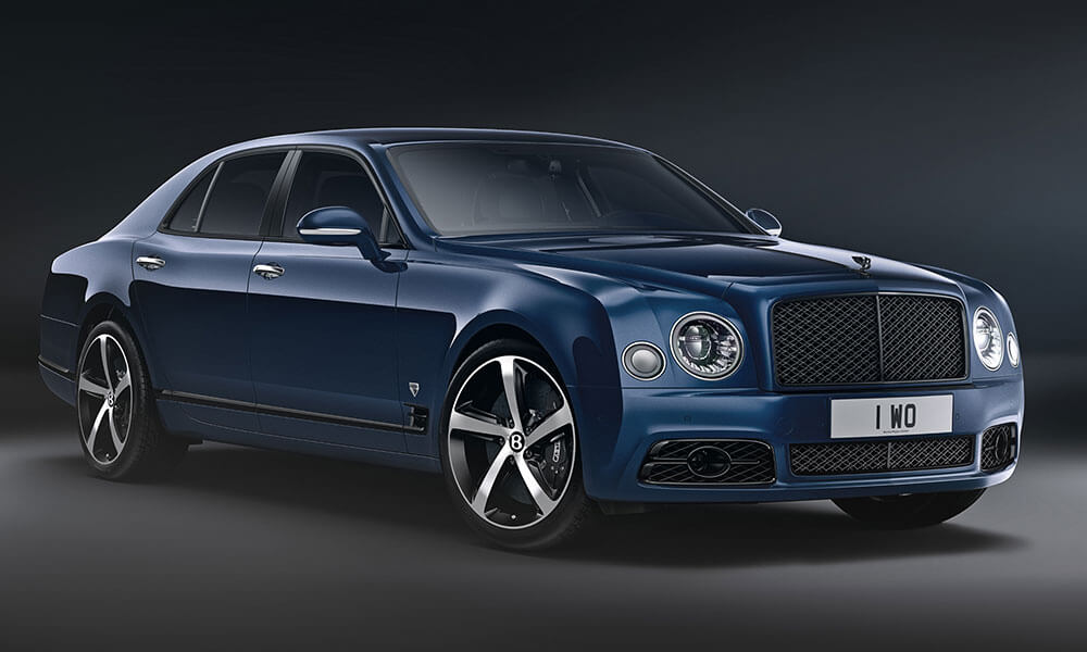 The 2020 Bentley Mulsanne 6.75 Mulliner Edition Front View