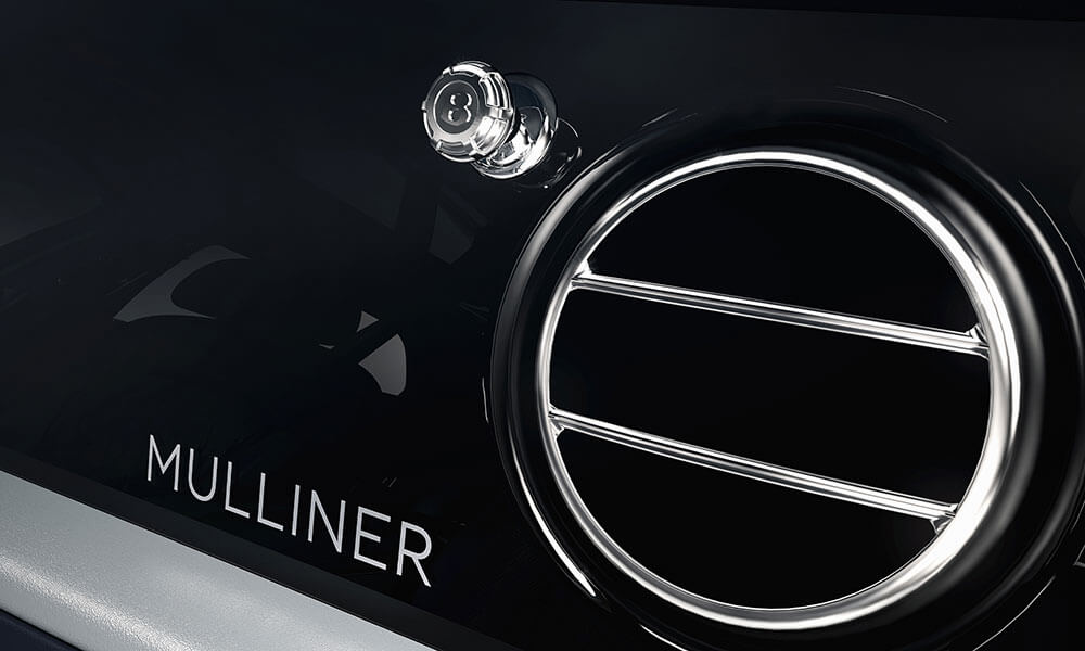 The 2020 Bentley Mulsanne 6.75 Mulliner Edition Oil Cap Air Styled Vent Knob