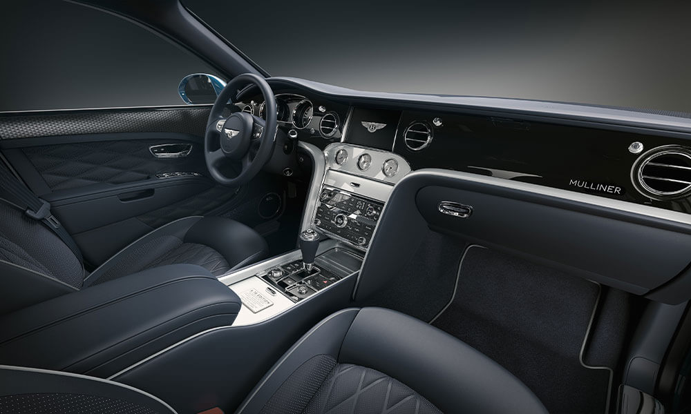 The 2020 Bentley Mulsanne 6.75 Mulliner Edition Interior Front Cabin View