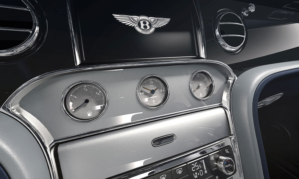 The 2020 Bentley Mulsanne 6.75 Mulliner Edition Dash Dials