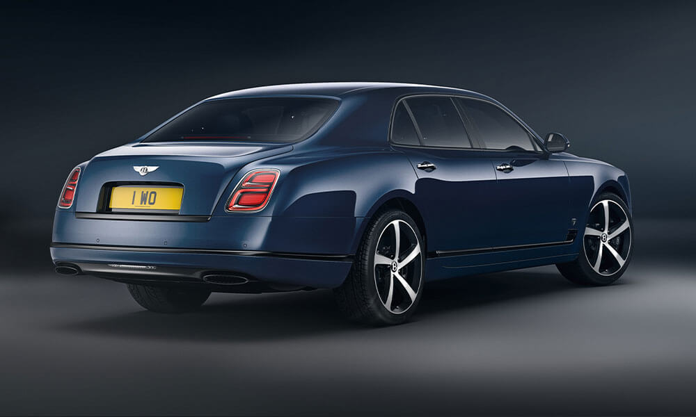 2020 Bentley Mulsanne 6.75 Mulliner Edition Rear View