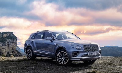 2021 Bentley Bentayga New Exterior