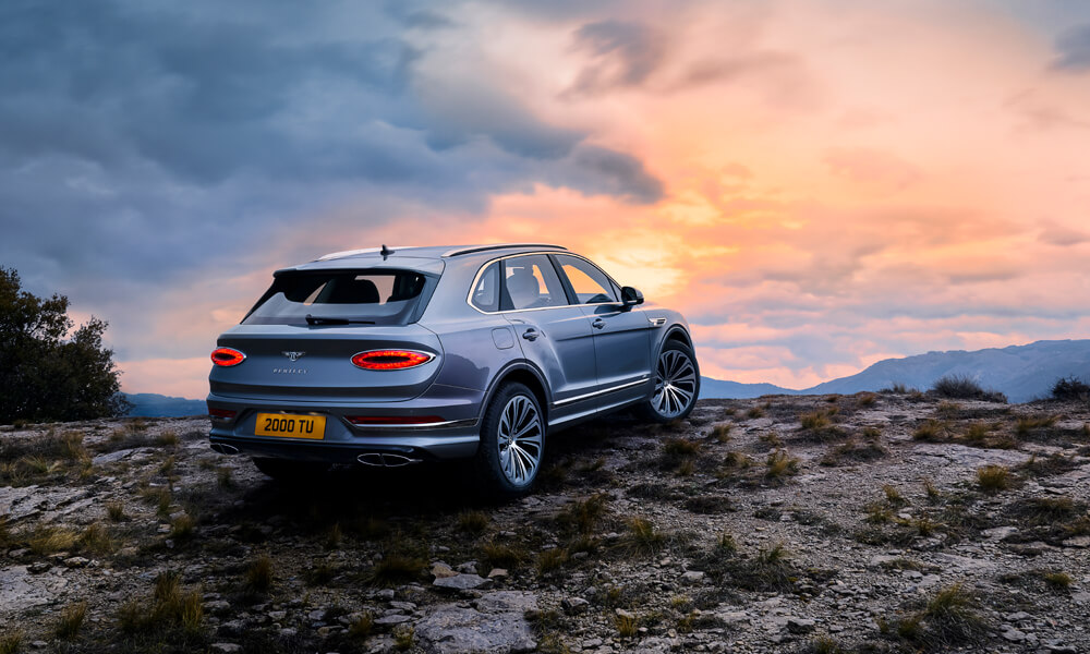 2021 Bentley Bentayga Exterior Rear Outdoors