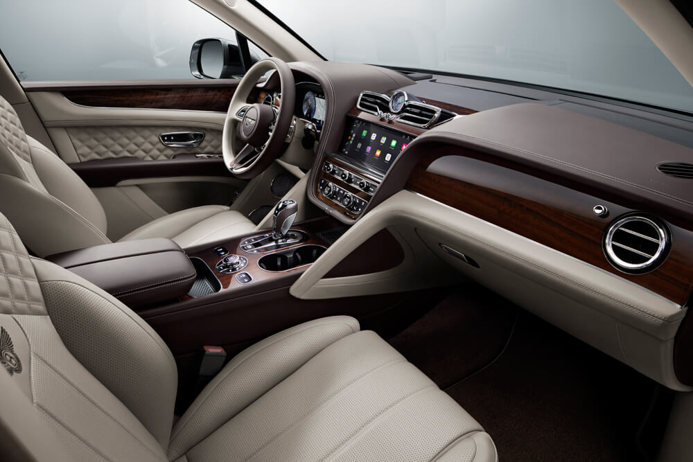 2021 Bentley Bentayga Interior Front Infotainment Center