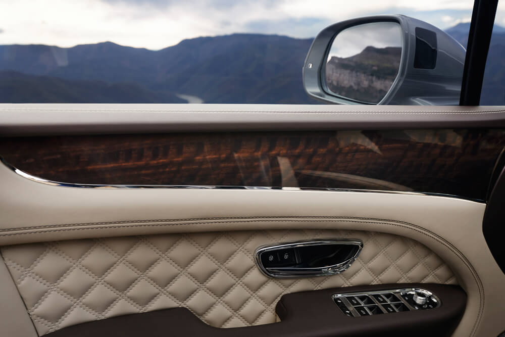 All of the details that go into the Bentley Bentayga. Credit: Bentley