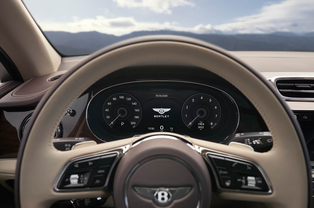 2021 Bentley Bentayga Interior Steering Wheel