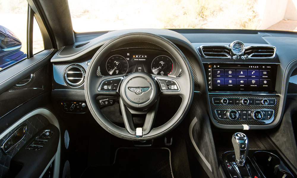 2021 Bentley Bentayga Speed Steering Wheel