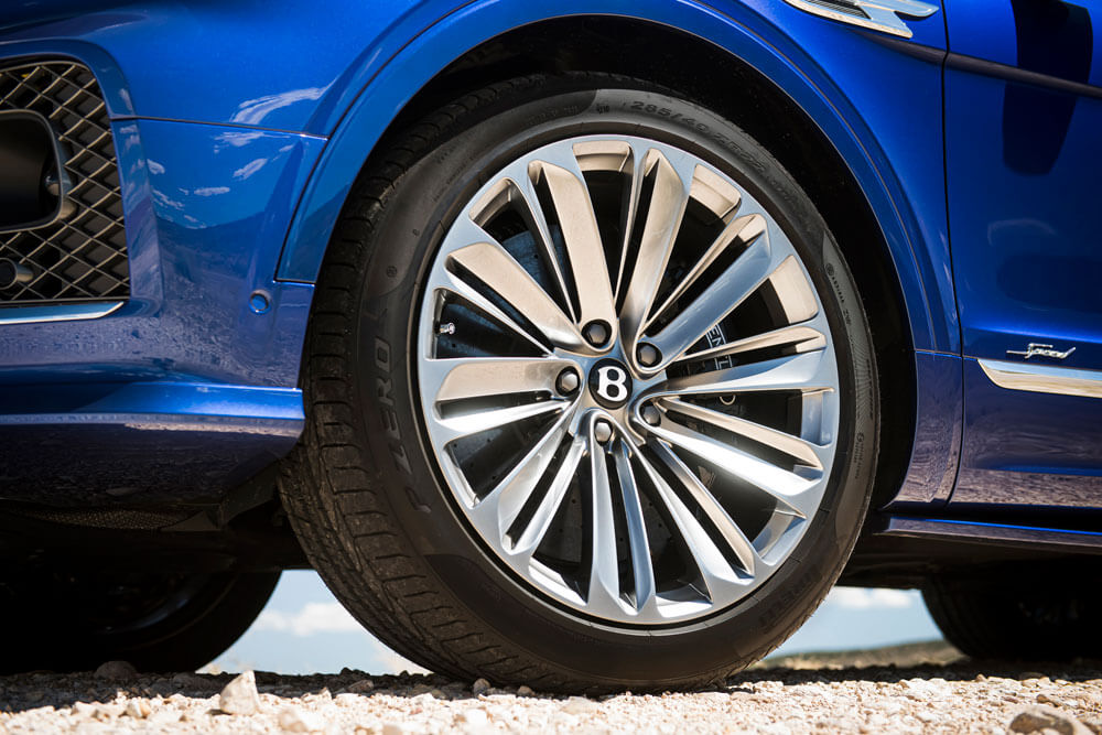 2021 Bentley Bentayga Speed Wheel