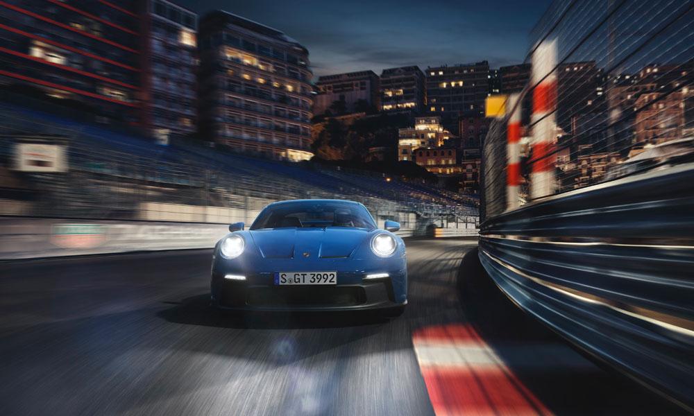 2021 Porsche 911 GT3 Front Driving View