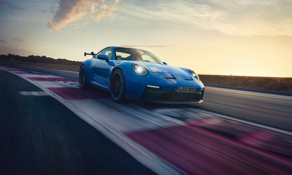 The highly anticipated 2022 Porsche 911 GT3. Credit: Porsche