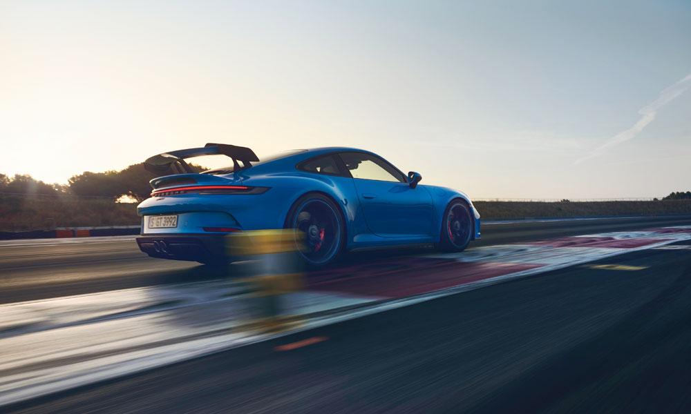 150% more downforce than its predecessor. Credit: Porsche