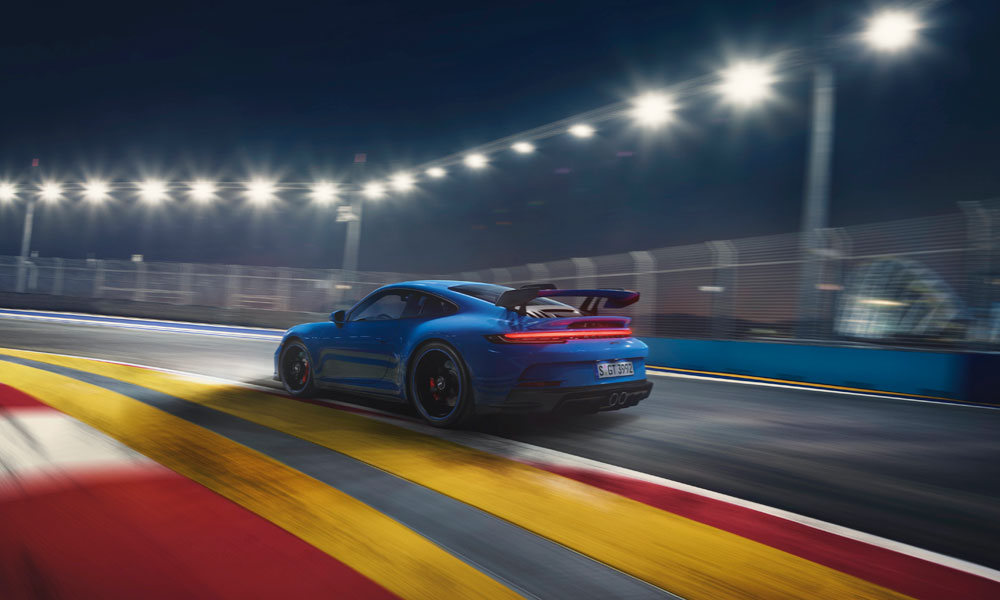 2021 Porsche 911 GT3 Rear Track