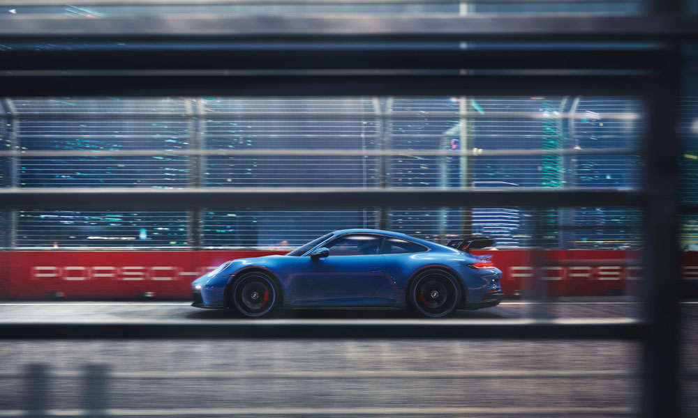 2021 Porsche 911 GT3 Side View