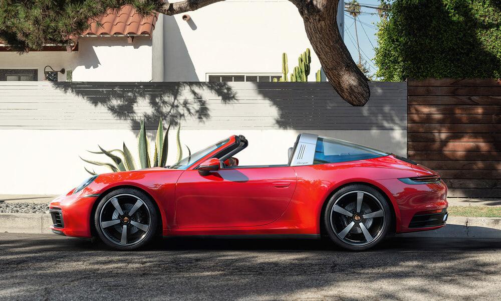 The new 2021 Porsche 911 Targa 4.