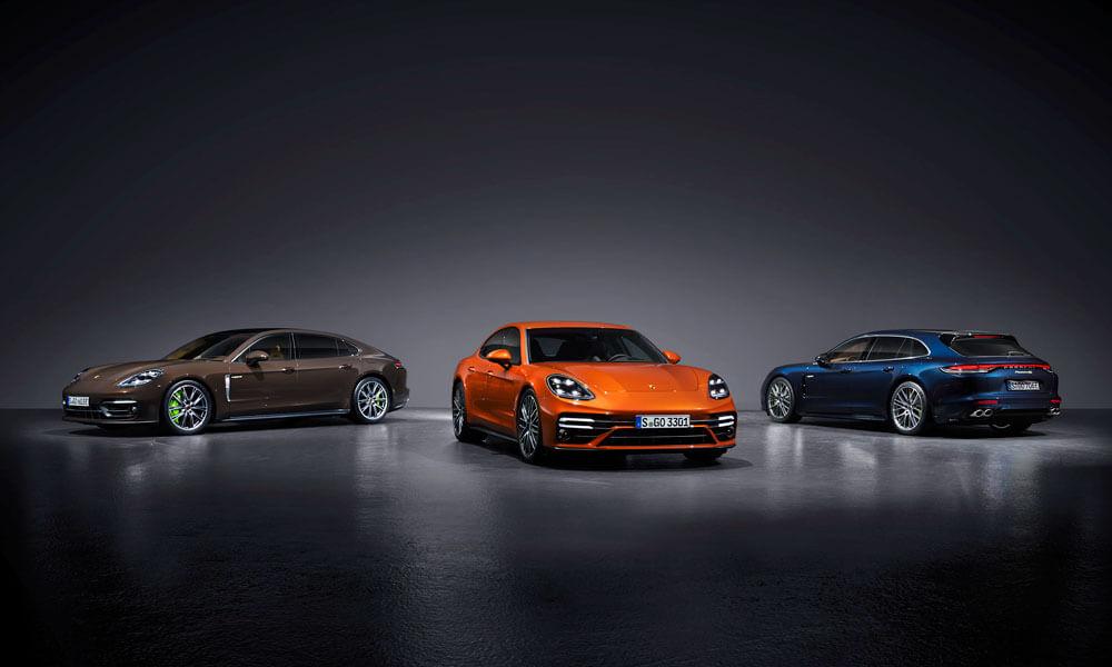 2021 Porsche Panamera Trio