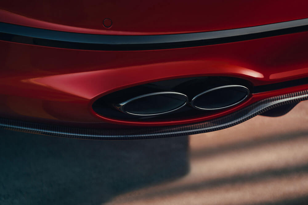 2021 Bentley Flying Spur V8 Exhaust