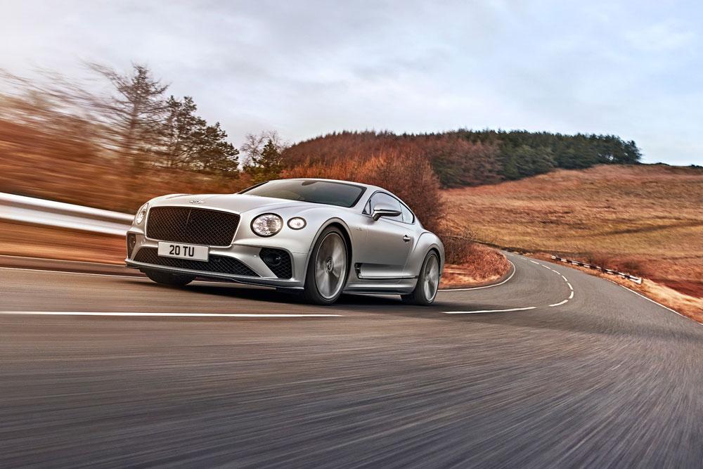 2022 Bentley Continental GT Speed Driving