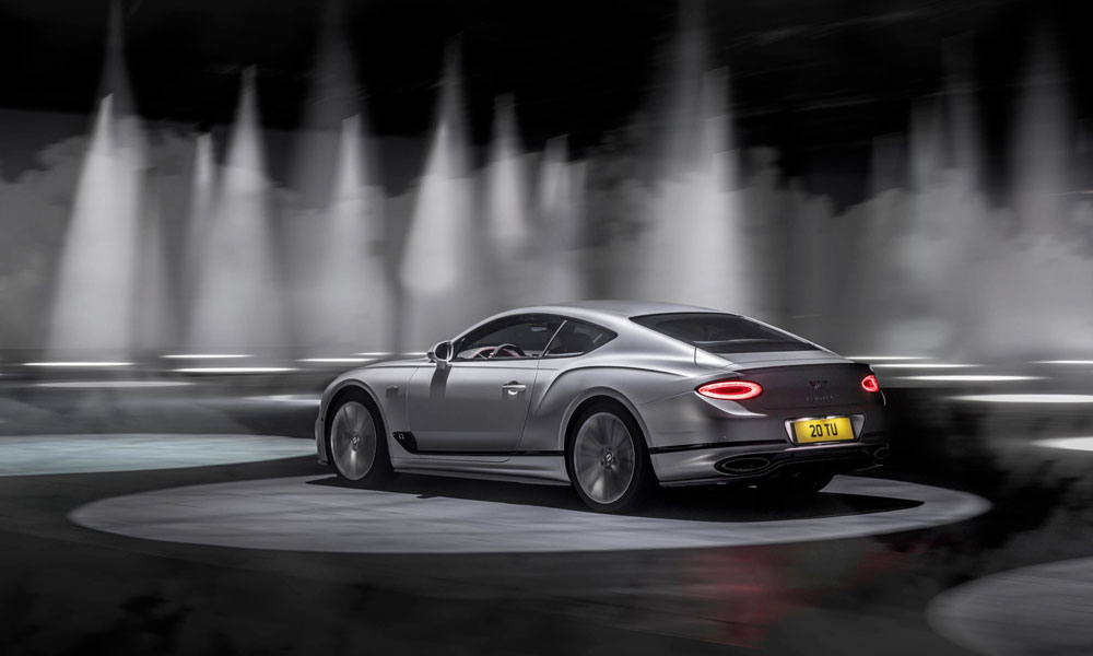 2022 Bentley Continental GT Speed Rear Side View