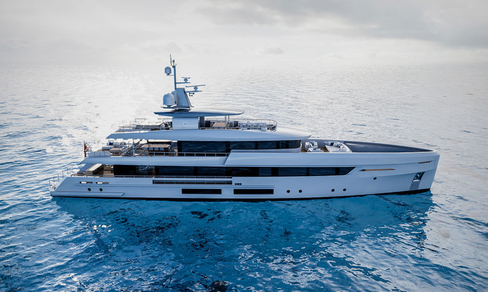 45m Tankoa T450 superyacht