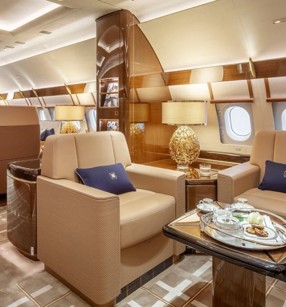 First Airbus ACJ320neo VVIP interior designed by Alberto Pinto Design for Acropolis Aviation