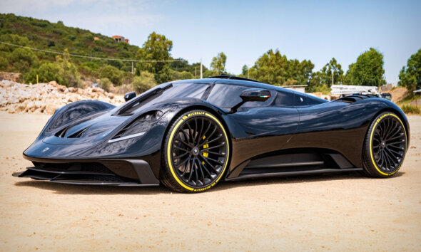 ARES S1 Project Supercar