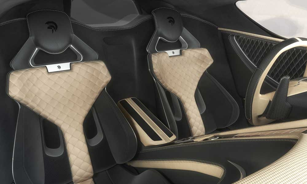 ARES Design S1 Project Supercar interior seats