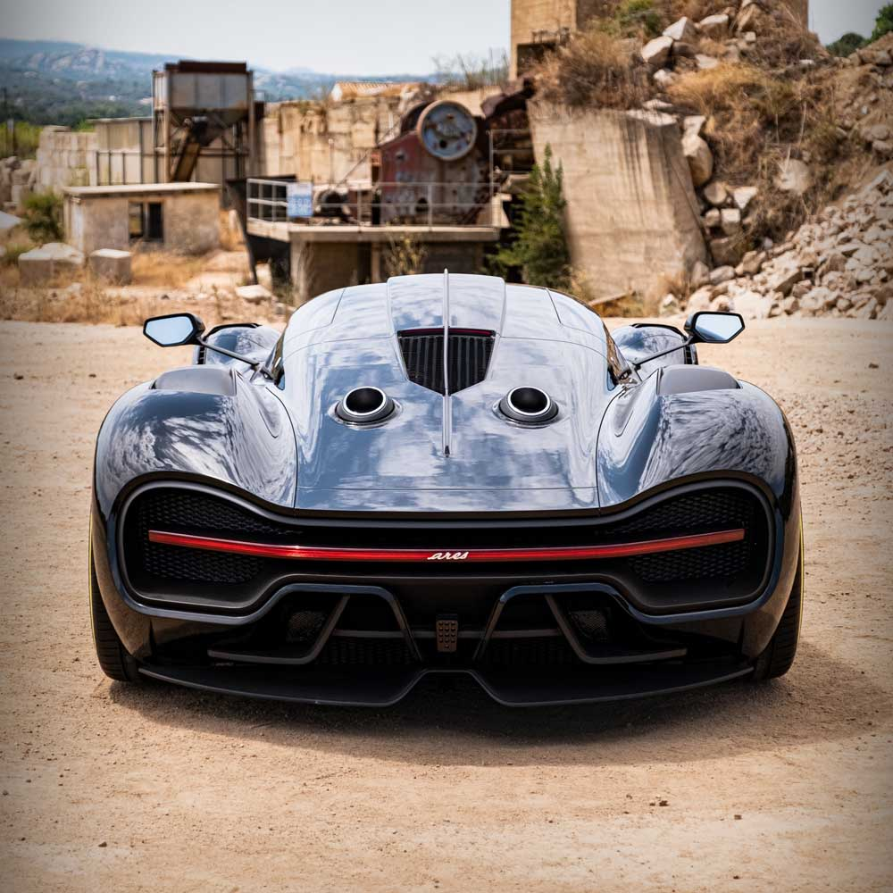 ARES Design S1 Project Supercar rear view