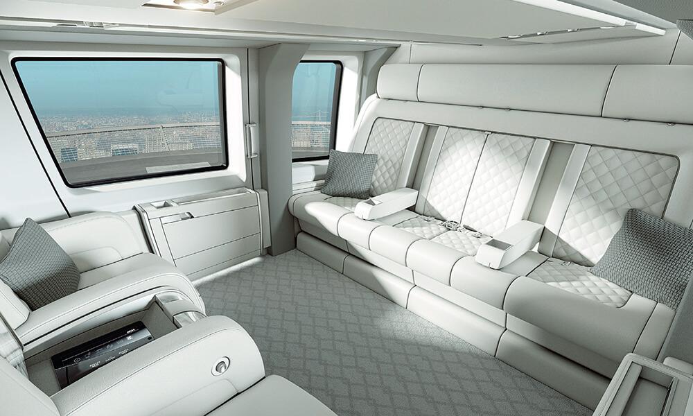 Airbus ACH160 Interior Details
