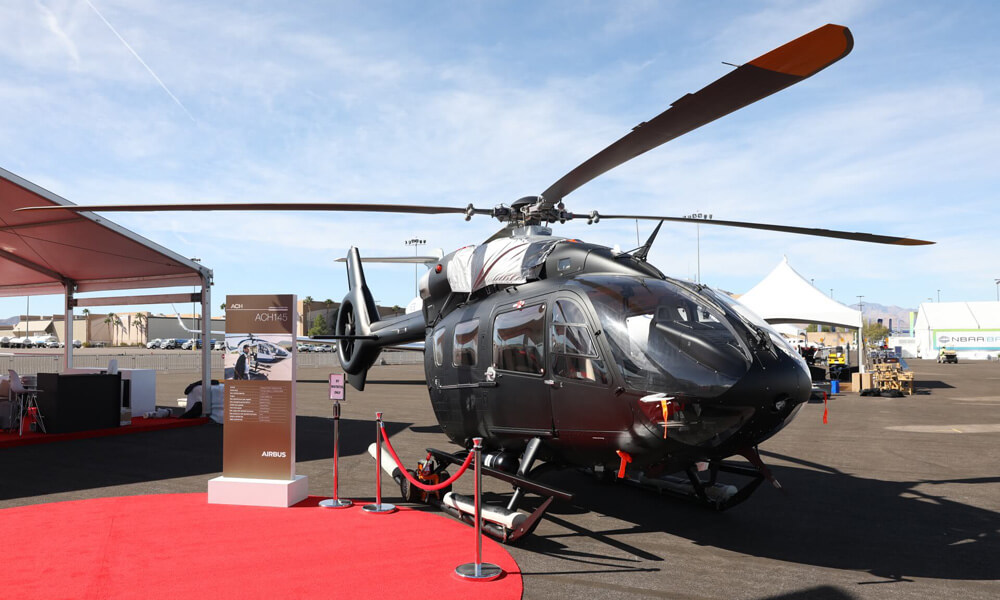 NBAA Business Aviation Convention Exhibition Las Vegas Airbus Helicopter